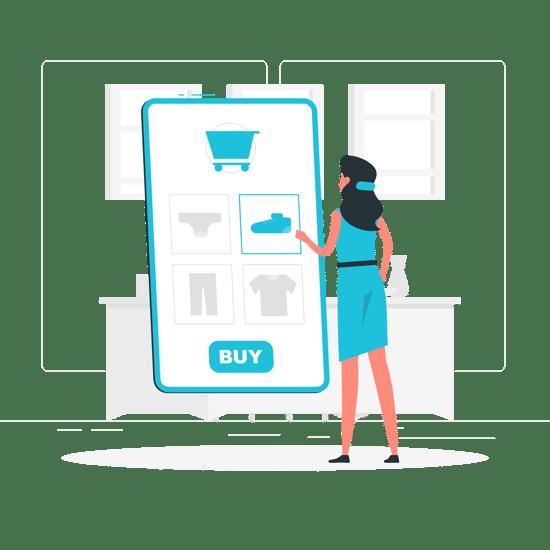 Online shopping-rafiki