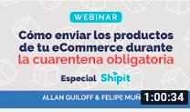 Allan Guiloff y Felipe Muñoz - Cómo enviar los productos de tu eCommerce durante la cuarentena obligatoria