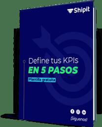 Ebook - Define tus KPIs en 5 pasos. Plantilla Gratuita.